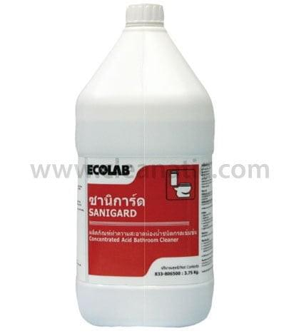 Sanigard cleanatic for Ecolab heavy duty alkaline bathroom cleaner